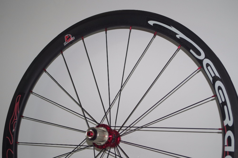 40mm carbon wheelset tubeless clincher