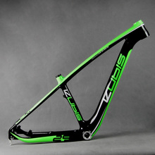 29ER Fork Carbon T700 Mountain Bike Carbon MTB Frame FM056 BSA Bottom Bracket 135*9mm Cycling Sporting Goods(China)