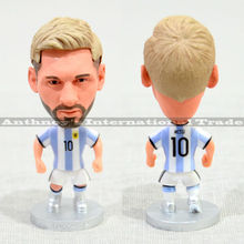"Soccer Player Star 10# MESSI (ARG-2016) 2.5"" Toy Doll Figure"
