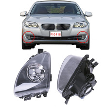 Left & Right Driving Fog Light Lamps Lighthouse For BMW F10 F11 520i 523i 528i 535i 550i Car Styling #P362