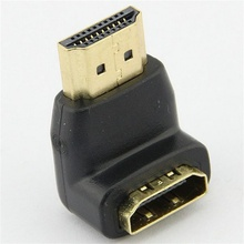 hot selling New Connector for 1080p LCD TV Mini Elbow HDMI Male to Female Adapter good sale