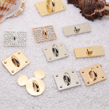 2pcs per lot Min.$15 (Mixed Order) Cell Phone Case DIY Rhinestones Alloy button Decoration Square shape Clasps Hooks Charms