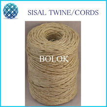 1 piece (80m)t Natural sisal twine (dia.: 1.5mm,1 ply twisted) 80m/spool used in cat wholesales(China)