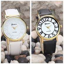 2017  Cheap amazing practical new hot classical wonderful Women Fashion Vintage Dial Leather Band Quartz Analog Wrist Watches
