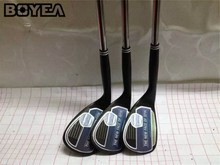 Brand New Boyea 588 Wedge Black Golf Wedges Golf Clubs 52/54/56/58/60 WEDGE Flex Steel Shaft With Head Cover