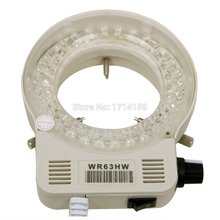 Free shipping !!!! AmScope 56 LED Reinforced Microscope Ring Light Illuminator with Dimmer for Stereo Microscope(China)