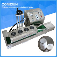 DL-1800 Desktop stainless steel Continuous Induction Sealer,magnetic induction sealing machine,suit for 15-80mm diameter