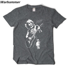 Rock Band Foo Fighters t -shirt trend style boys Dave Grohl tshirt  fine cotton printed pattern O-neck casual style hip hop tees