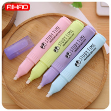 AIHAO Free Shipping Kawaii Candy Color Magic Correction Pen Cute Corrector Tape For Kids Gift Korean Stationery 1241(China)