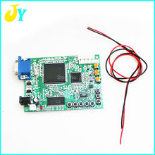 Arcade game video conversion HD LCD converter board CGA TO VGA conversion PCB Free shipping