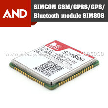 Free shipping SIM808 module,SIMCOM GSM/GPRS+GPS module,industry lowest solution,REAL tracking number