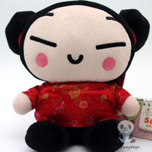 China Doll Plush Toys Children Toy Wedding Gift 28cm