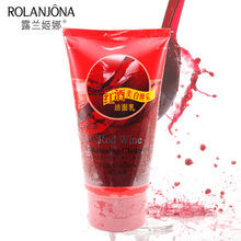 1 piece Red Wine Whitening Facial Cleanser Fade Dull Yellow Skin color Hydrating Face Cleansing Deep Clean no dry 150ML A01292(China)