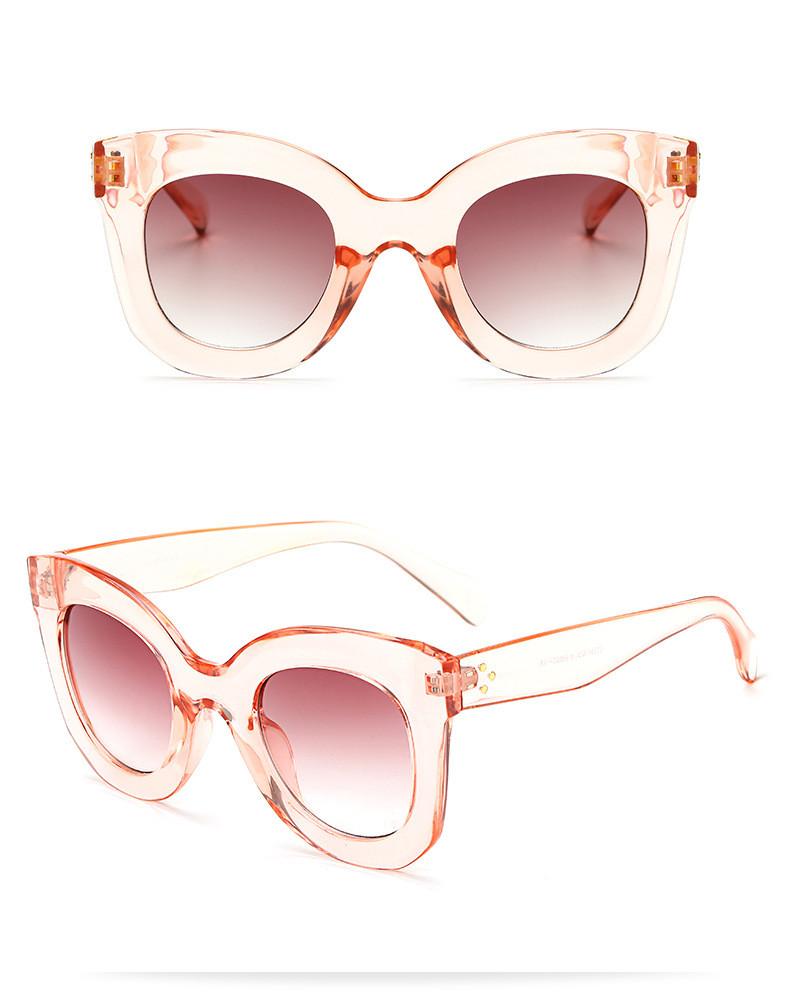 Luxury Cat Eye Sunglasses Women Brand Designer Retro Vintage Sun Glasses Women Female Ladies Sunglass Mirror Lunettes de soleil (12)