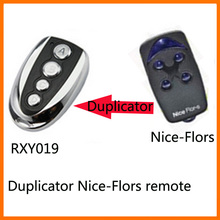 high quality 433.92mhz duplicator Nice Flor-s rolling code remote free shipping