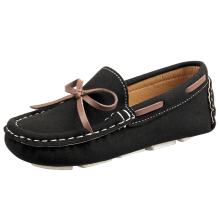 New Kids Boys Shoes Loafers Slip-on Leather Casual Flat Children Sneakers Girls Moccasins Baby Boat Shoes (Toddler/Little Kid)