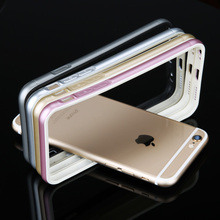 Ultra thin Soft TPU Cell phone protective Bumper for iphone 6 6s/6Plus/6s Plus with Double colors design Wholesale/Retail(China)