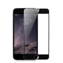Screen printing Premium Reinforced 9H Tempered Glass Full Coverage Whole Screen Protector Film For iPhone 6 6s Plus 7 7 Plus(China)