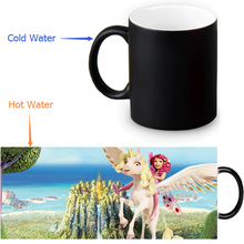 Mia and Me Magic Mug Custom Photo Heat Color Changing Morph Mug 350ml/12oz Coffee Mug Beer Milk Mug Halloween Gift