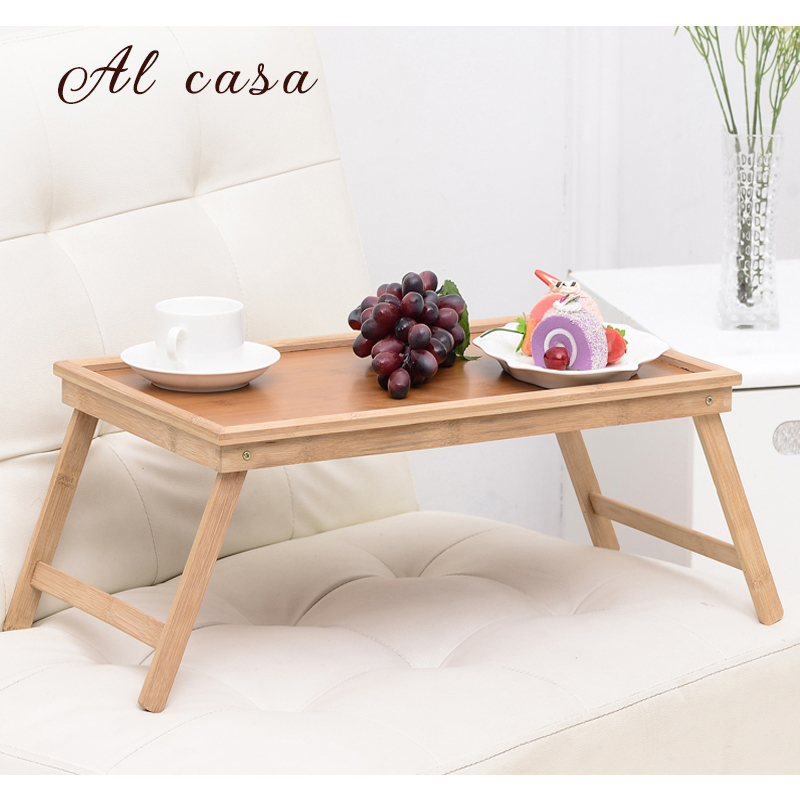 laptop table portable notebook computer desk small coffee desk in bed snack table uncoated tea tray<br>