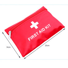 waterproof first aid kit outdoor camping survival first aid kit bag 20x14cm