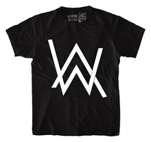 Alan_walker_Music_EDM_Tshirt_in_India_by_Sillypunter платье футболка(China)