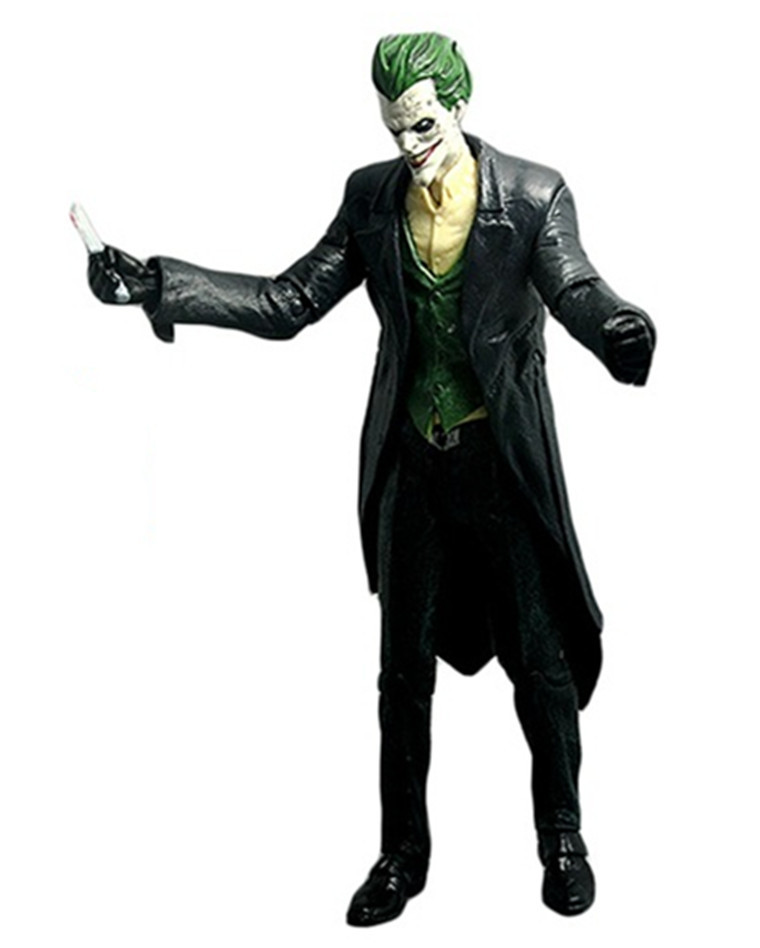 Batman The Joker Arkham Origins Black Windbreaker Action Figure Collection Toy PVC 18CM Free Shipping<br><br>Aliexpress