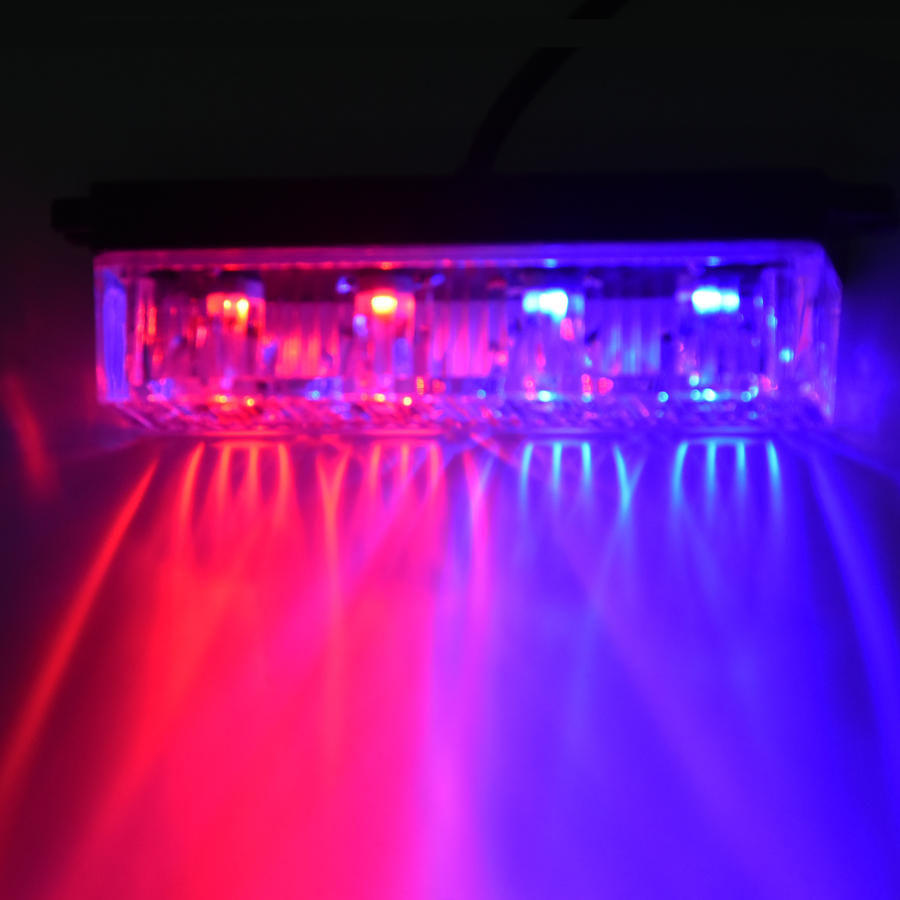 4 LED Car Emergency Beacon Warning Light Bar 12V/24V led Strobe Flash light Universal fit SUV Offroad Truck<br><br>Aliexpress