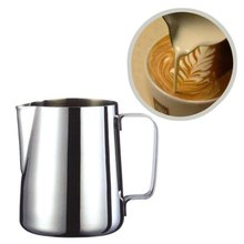 New Arrival Stainless Steel Espresso Garland Printed Coffee Pitcher Craft Latte Milk Frothing Jug Kitchen Tools