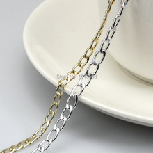 6mm Quality Silver or Gold Fine Chains Jewellery Making 5 meters Free P&P