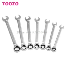 6mm-14mm Reversible Ratchet Wrench Ratcheting Socket Spanner Nut Tool New #G205M# Best Quality