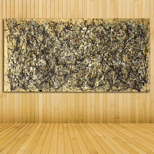 Jackson Pollock Still life Abstract oil Painting Drawing art Spray Unframed Canvas wire airbrush airbrush figure wall