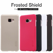 Original Nilkin Super Frosted Shield Hard Back PC Cover Case for Samsung Galaxy C5 C5000 Phone Case + Screen Protector