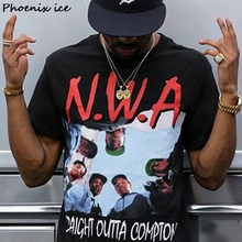 "Rushed out of the sort NWA Straight Outta the sort of ""short - sleeved t-shirts men and women"