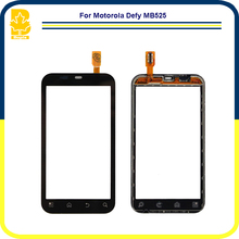 10pcs Phone Parts 3.7'' Touchscreen Panel Digitizer Front Glass Lens Sensor Touch Screen For Motorola Defy MB525
