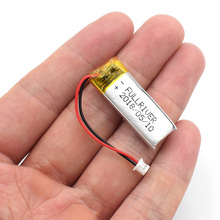 3.7V 130mAh Li-Po Rechargeable Battery 501230 Cell Bluetooth GPS MP3 MP4 MP5 Remote Controllers Electric Toys SPY Camera