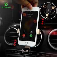 FLOVEME Universal Car Phone Holder For iPhone X 8 Plus Phone Holder Air Vent Mount Holder Stand in Car Mobile Phone Accessories(China)