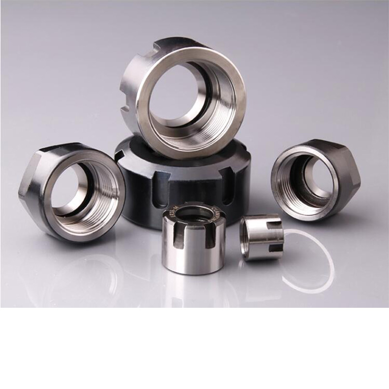ER8 ER11 ER16 ER20  ER25 ER32 ER40  A M UM nut   ER  collet nut for clamping cnc milling turning collet chucks(China)