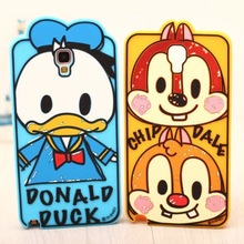 Original 2017 Hot 3D Lovely Graffiti Cartoon Duck Minnie Mickey chip soft Rubber phone case cover for Samsung Galaxy Note 3 NEO