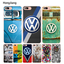 HongJiang Retro Volkswagen Vw Beetles cell phone Cover case for iphone 6 4 4s 5 5s SE 5c 6s 7 8 plus X(China)
