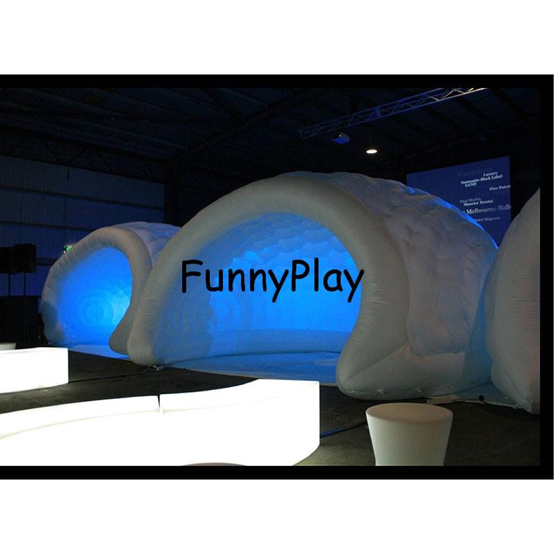 Inflatable Luna tent4
