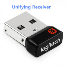 Genuine Tiny Unifying USB Receiver Dongle Mouse and Keyboard Can Connect Up To Six (6) Devices w/ Unifying Logo