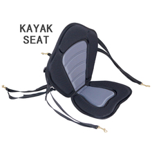 kayak seat 1.15kg inflatable kayak canoe inflatable boat backrest seat stand up paddle board adjustable dinghy raft A09001(China)
