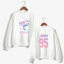 Buy LUCKYFRIDAYF BTS Kpop Face Yourelf Hoodie Sweatshirt Women Harajuku Fashion Female Fans Capless Sweatshirt Jimin Casual Clothes for $11.87 in AliExpress store