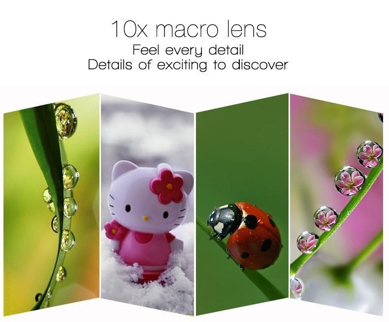 Fisheye Lens 3 in 1 mobile phone clip lenses fish eye wide angle macro camera lens for iphone 6 6s plus 7/7 plus xiaomi huawei 12