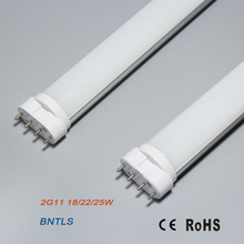 22W 2G11 LED 4 Pin Tube Lamp NW 4000K 18W fluorescent bulbs replacement