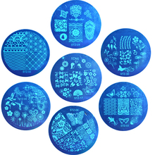 1pcs NEW Stamping Manicure Image Nail Art Image Stamp Template Plate DIY Various Arabesque Butterfly Pattern LASTZA01-30