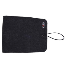 Hot BUBM Felt Sleeve Case Bag Organizer Protection Pouch Cover For Wireless Bluetooth Computer Cell Phone Earphone Accessory M
