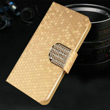 Luxury PU Leather Case Cover For BlackBerry Leap Flip Phone Bags With Stand Function Free Shipping