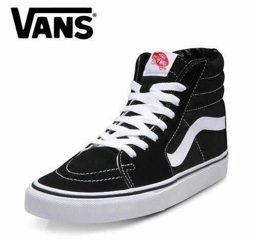 a868e1f6689f Бесплатная доставка Vans old skool классическая мужская парусиновая  спортивная обувь SK8-Hi кроссовки обувь vans